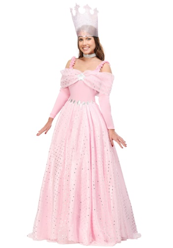 Plus Size Pink Deluxe Witch Dress Costume