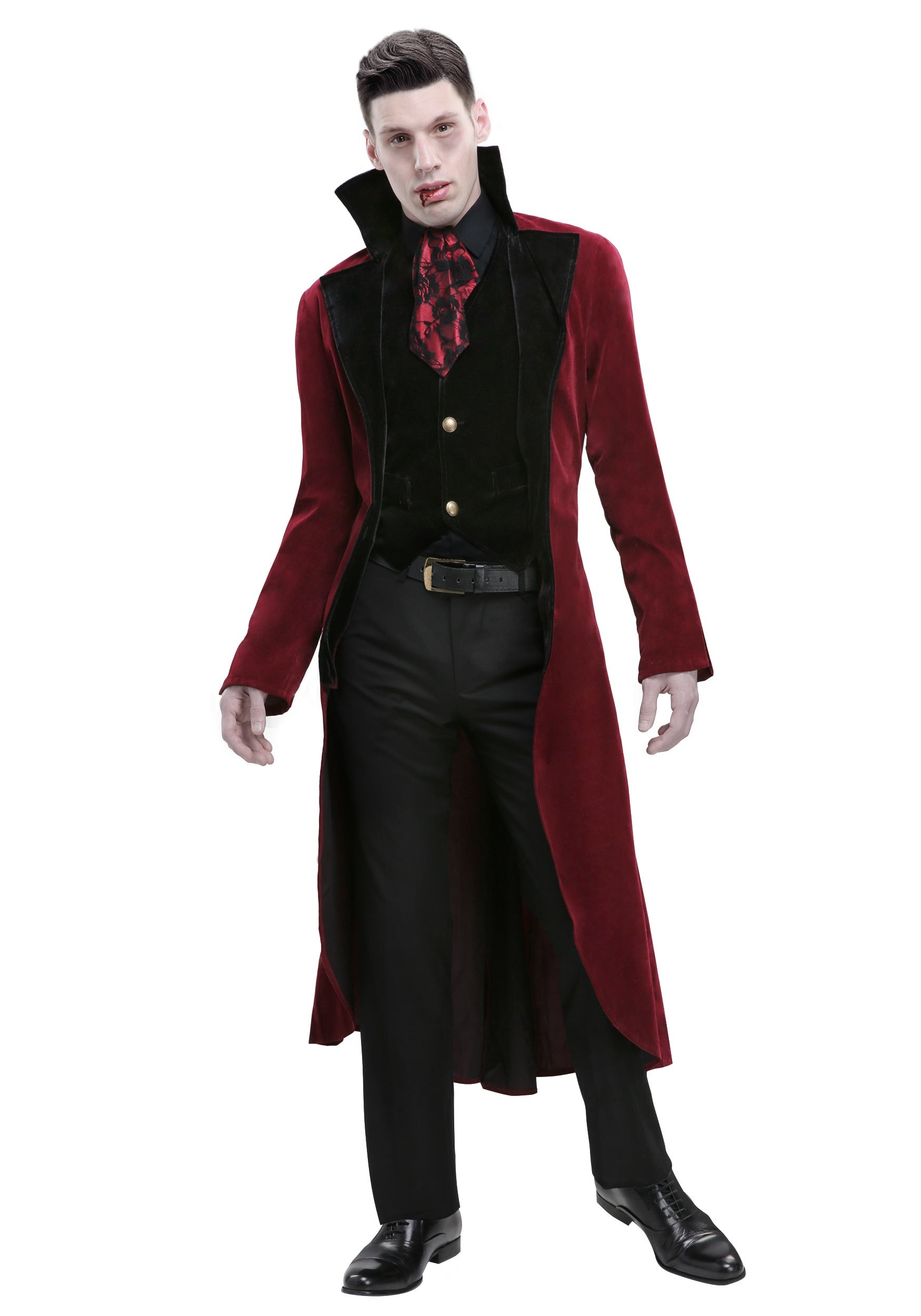Menu0027s Dreadful V&ire Costume  sc 1 st  Halloween Costumes & Adult Vampire Costumes - Men Womenu0027s Vampire Costume