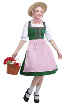 Plus Size Women's Oktoberfest Beauty Costume