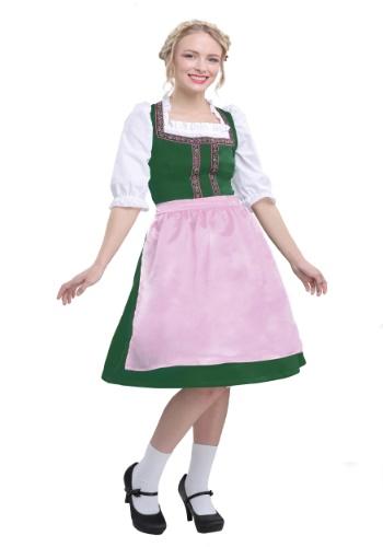 Womens Plus Size Oktoberfest Beauty Costume 1X 2X 3X