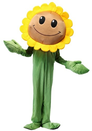 Click Here to buy Plants Vs. Zombies Sunflower Kids Costume from HalloweenCostumes, USA Funds & Shipping