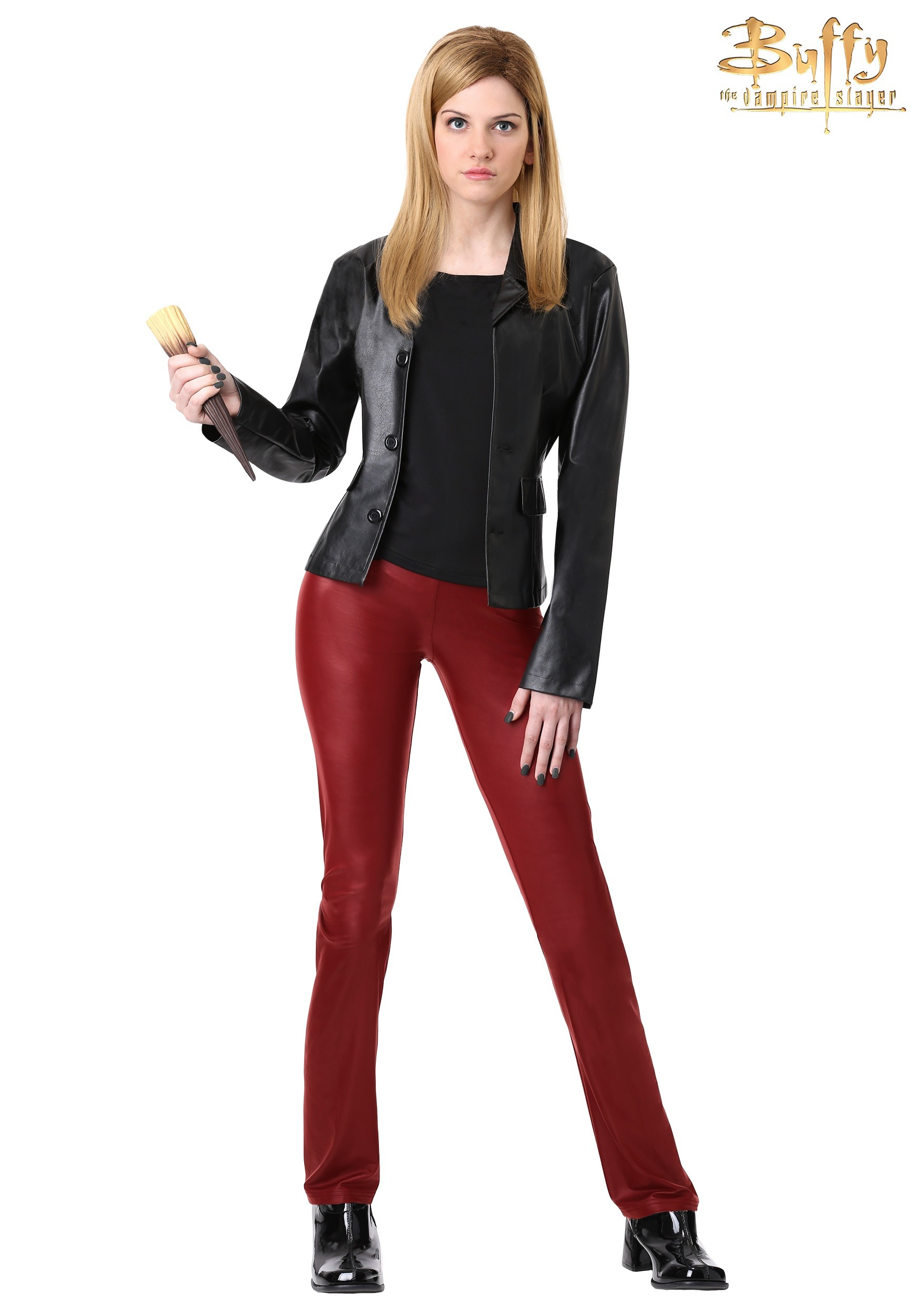 Buffy the V&ire Slayer Womenu0027s Costume  sc 1 st  Halloween Costumes & Womenu0027s Buffy the Vampire Slayer Costume