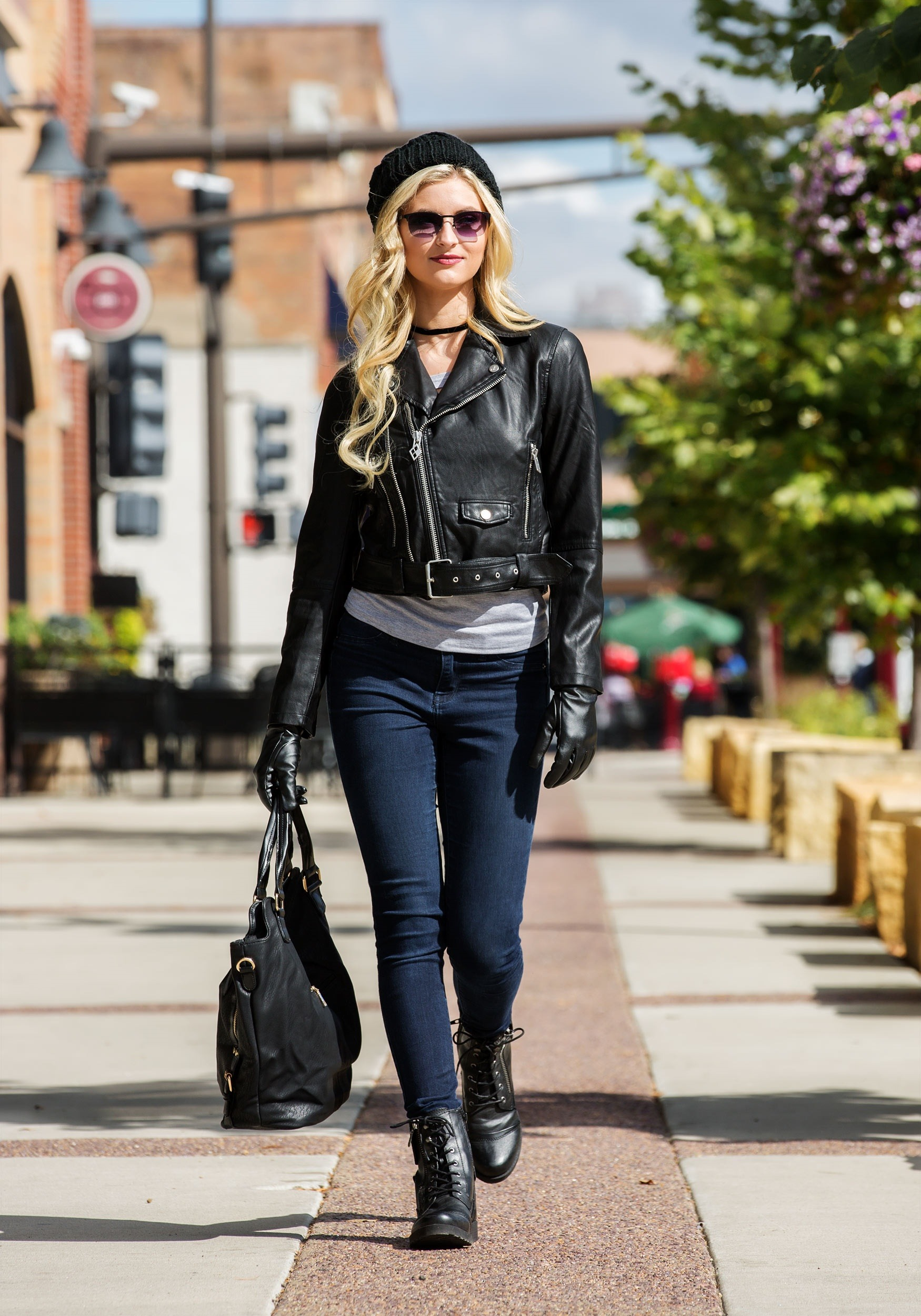 6cc8d50bd DC Harley Quinn Moto Jacket for Women