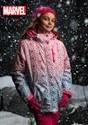Marvel Avengers Girls All Over Print Ski Coat