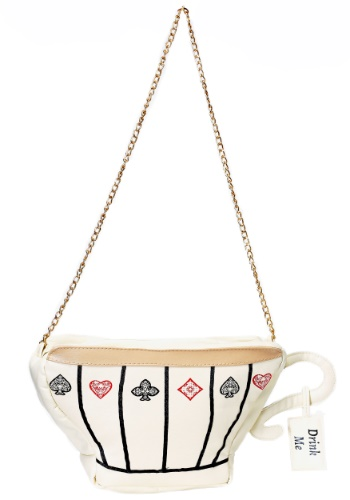 This women's tea cup purse is the perfect accessory to complete your Wonderland look! #purse