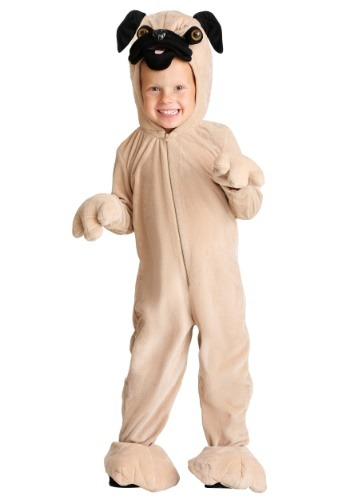 Toddler Pug Costume
