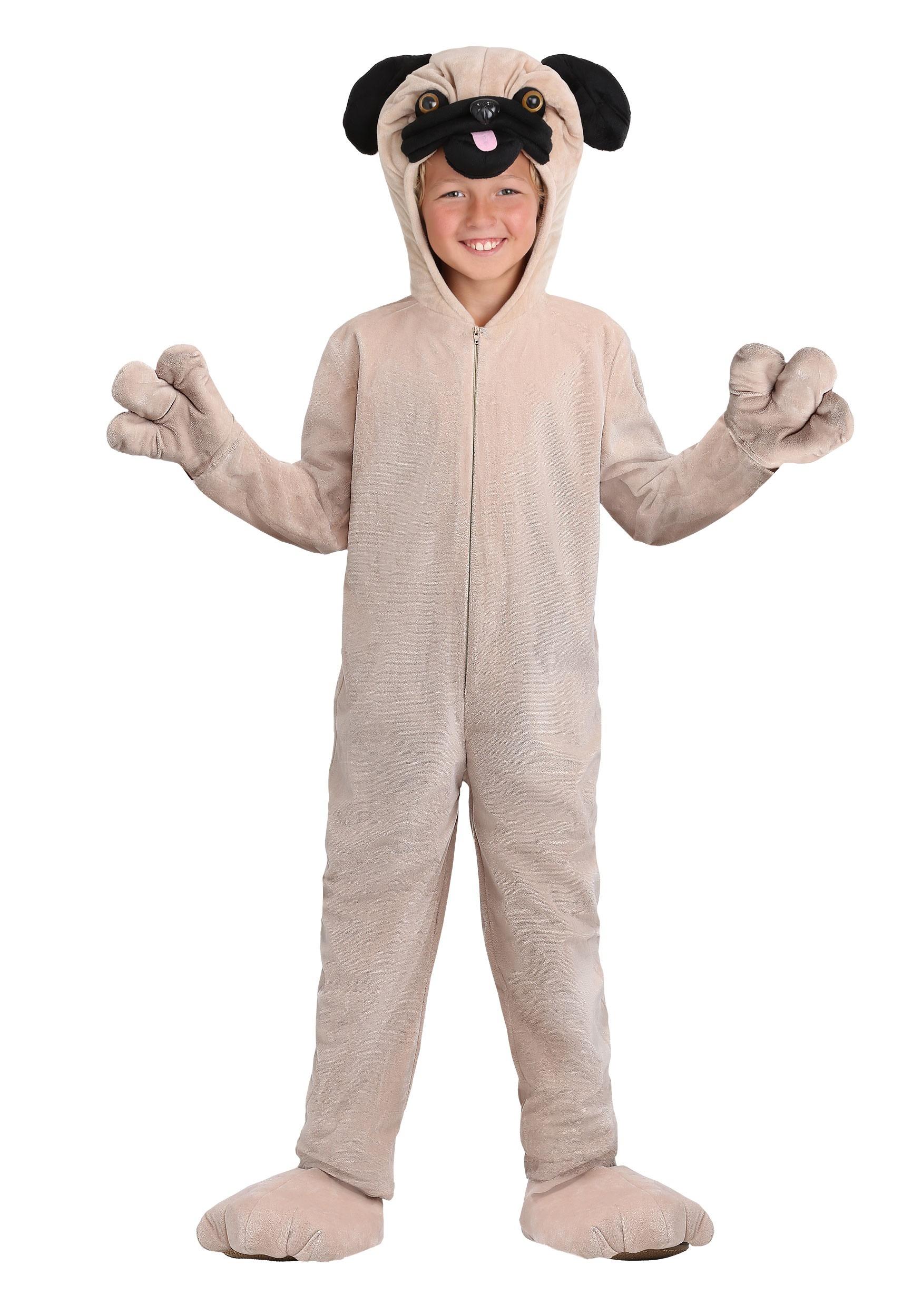 Kids Pug Costume  sc 1 st  Halloween Costumes & Pug Costume for Kids