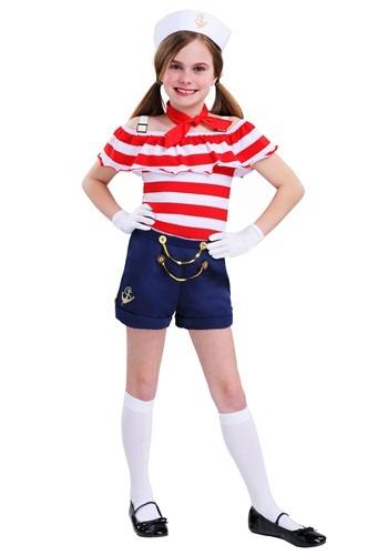 Sweetheart Sailor Girls Costume Update Main2