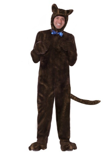 Click Here to buy Deluxe Brown Dog Costume Plus Size 2X from HalloweenCostumes, CDN Funds