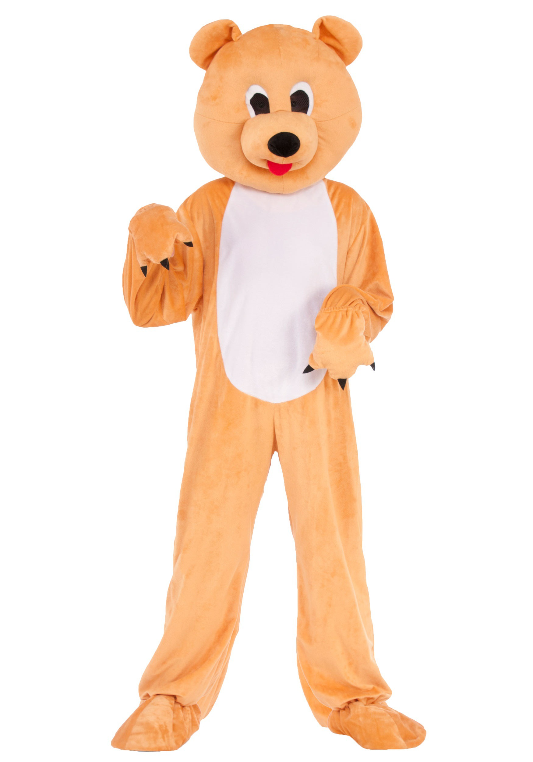 Child Bear Mascot  sc 1 st  Halloween Costumes & Bear Mascot Costume for Kids