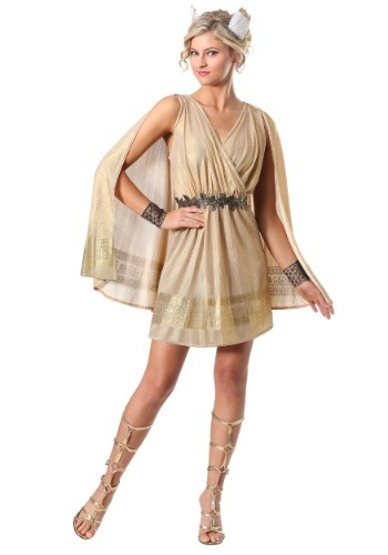 Click Here to buy Radiant Womens Goddess Costume from HalloweenCostumes, CDN Funds