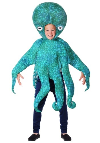 Child Blue Octopus Costume