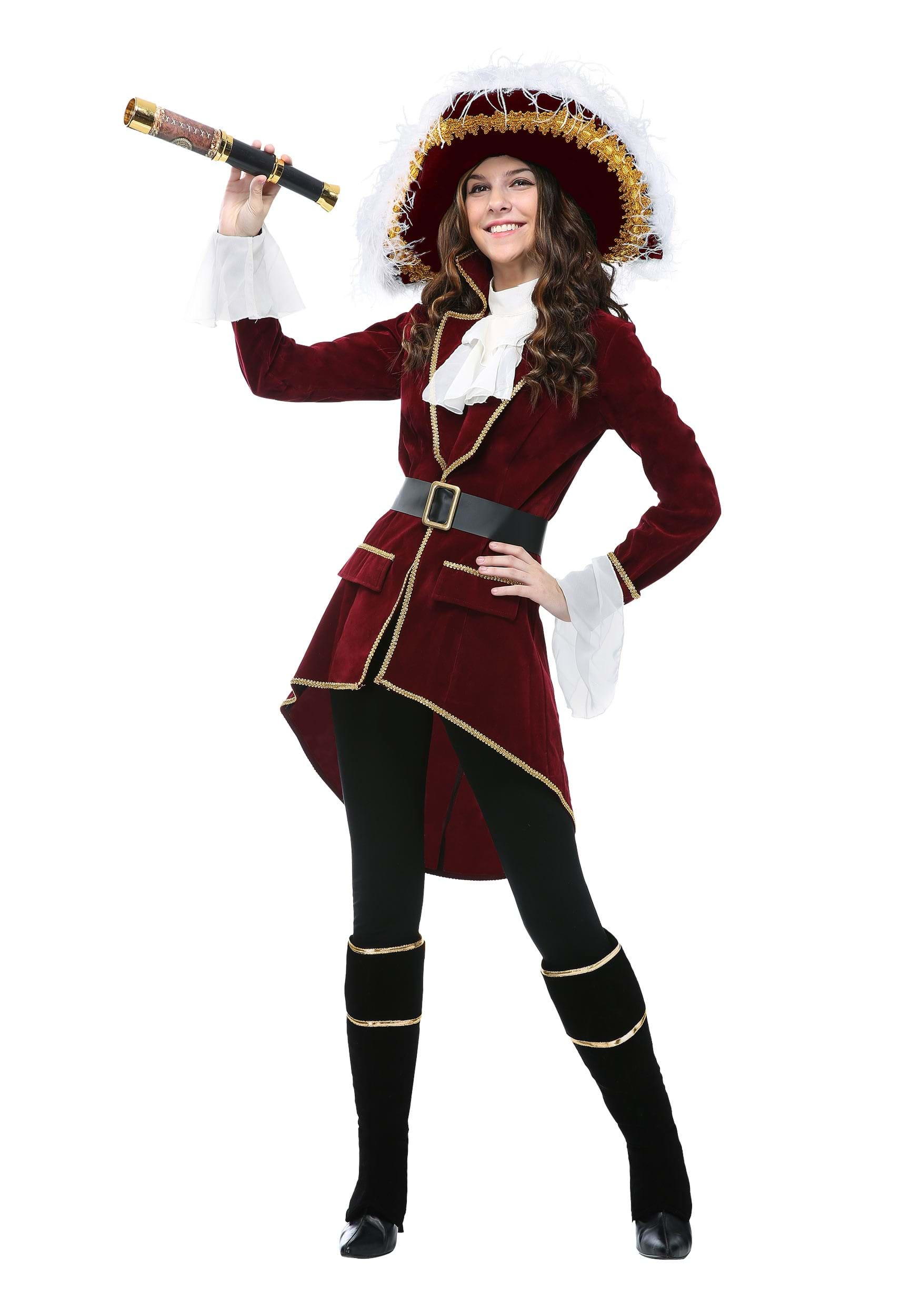 cc9037aa0 Women's Captain Hook Costume