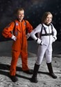 Kids Orange Astronaut Jumpsuit Costume3