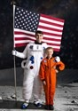 Kids Orange Astronaut Jumpsuit Costume4