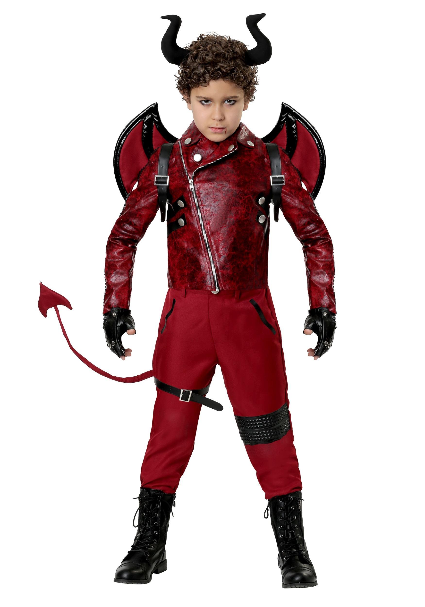 Childs Dangerous Devil Costume