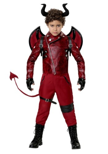 Click Here to buy Kidss Dangerous Devil Costume from HalloweenCostumes, CDN Funds