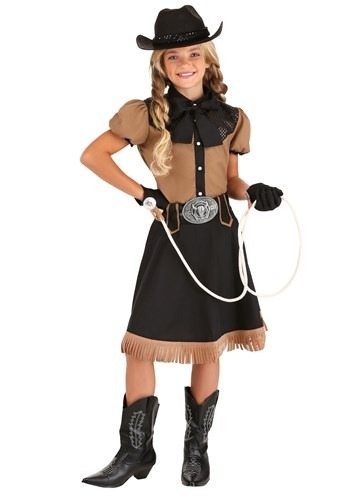 Girl's Lasso'n Cowgirl Costume update