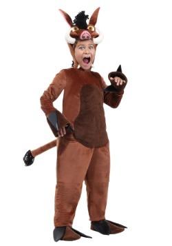 Child Warthog Costume