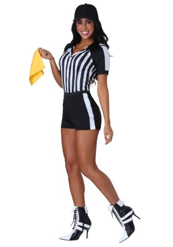 Racy Referee Women's Costume