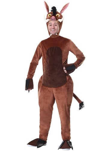 Adult Warthog Costume update