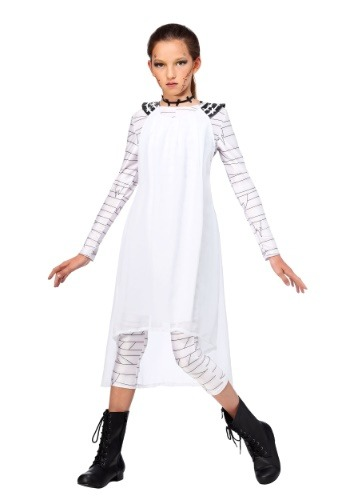 Click Here to buy Frankies Bride Girls Costume from HalloweenCostumes, CDN Funds