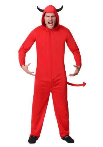Click Here to buy Mens Devil Jumpsuit Costume from HalloweenCostumes, CDN Funds