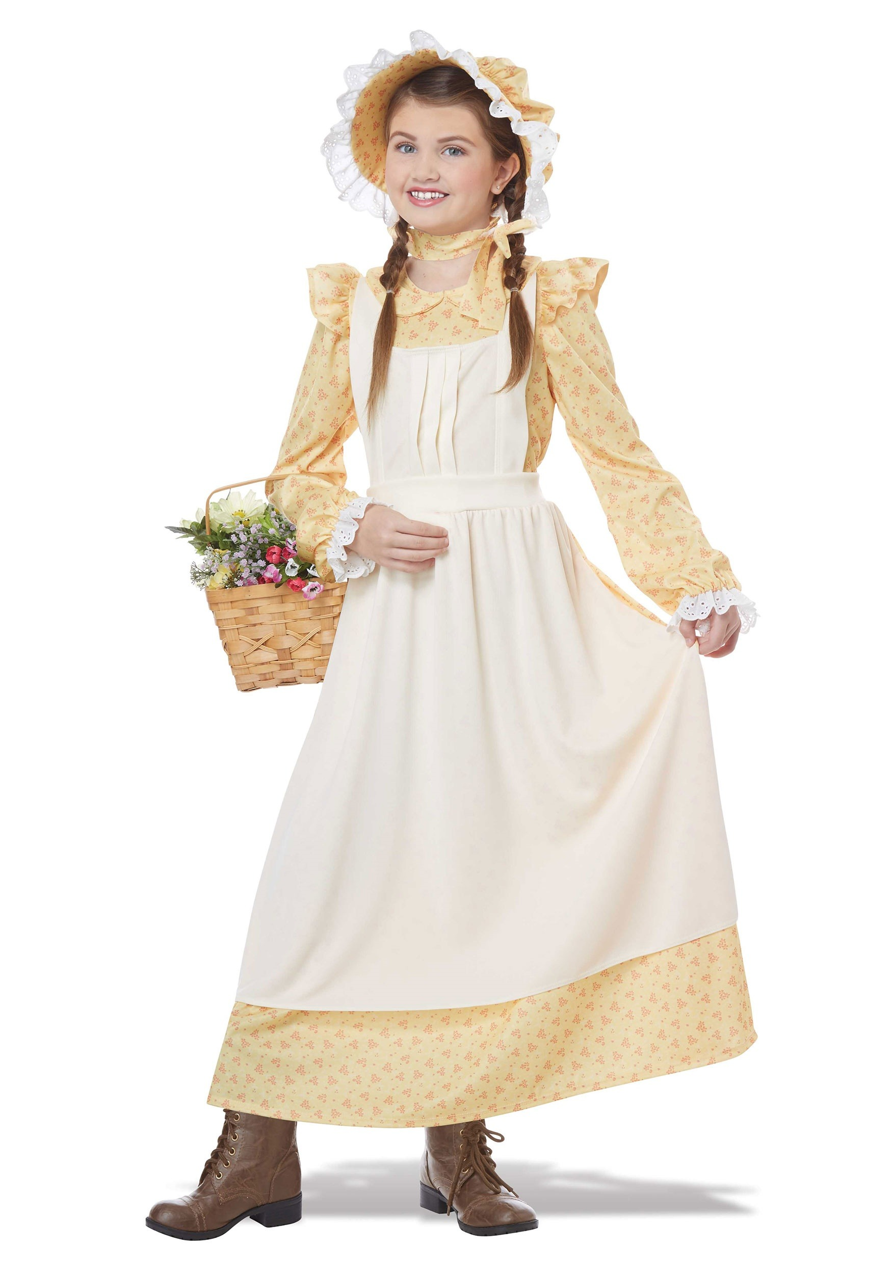 Girls Prairie Girl Costume  sc 1 st  Halloween Costumes : halloween costumes southern belle  - Germanpascual.Com