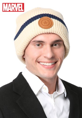 Click Here to buy Marvel Captain America Winter Hat from HalloweenCostumes, USA Funds & Shipping