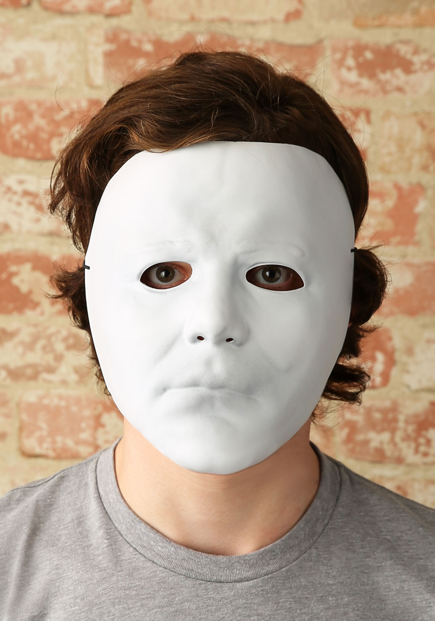 Halloween Michael Myers Vacuform Mask for Adults