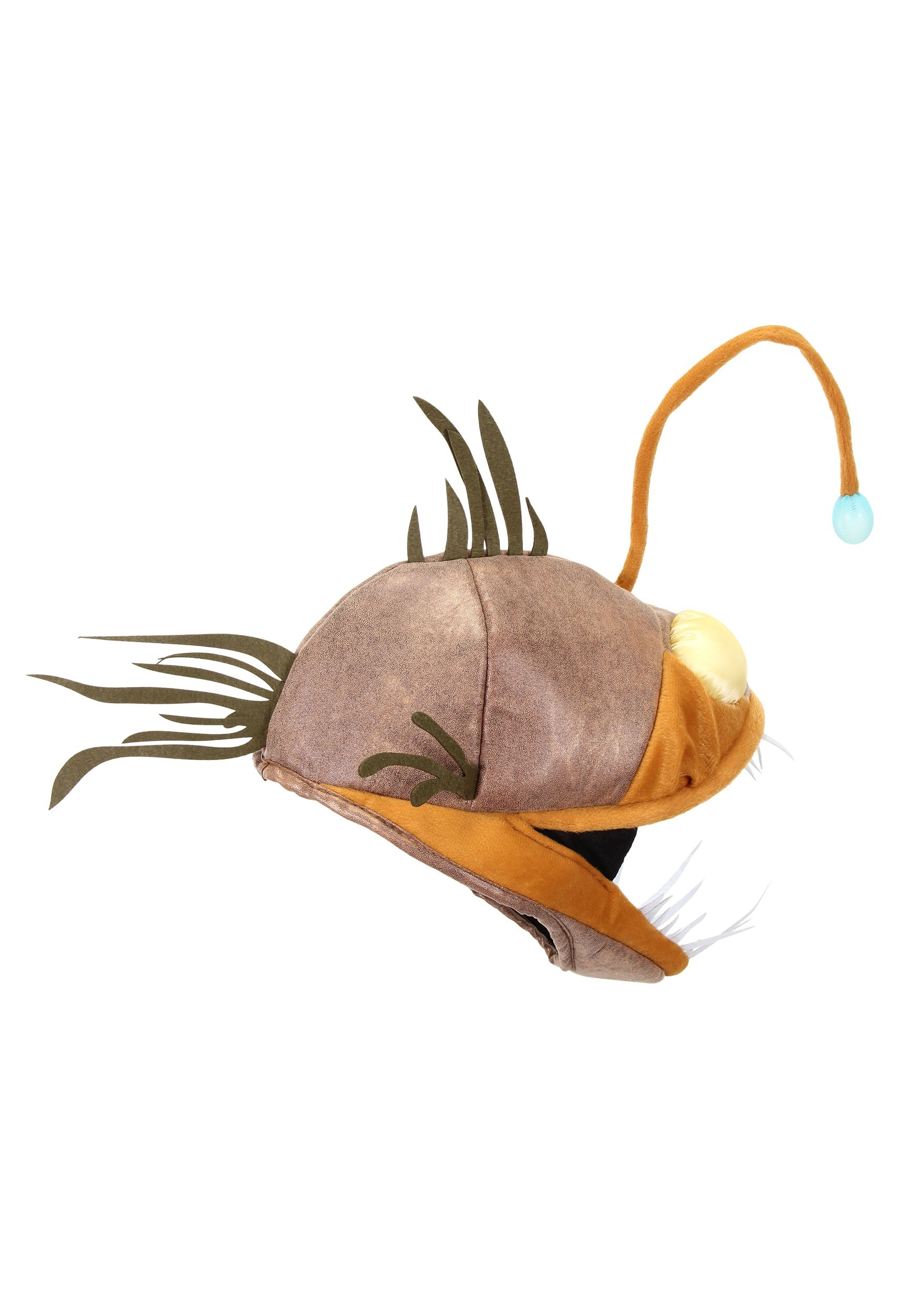Light up angler fish jawesome hat for Angler fish pet