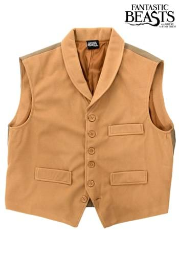 Click Here to buy Fantastic Beasts Newt Scamander Vest from HalloweenCostumes, CDN Funds