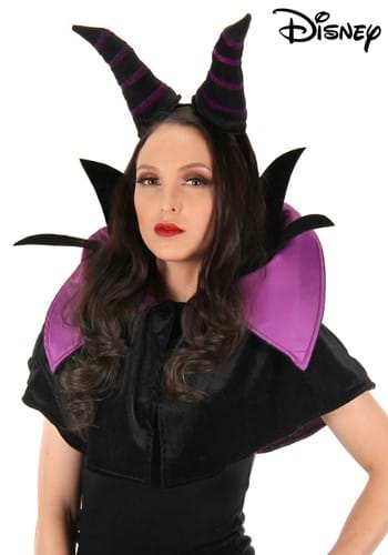 Click Here to buy Maleficent Headband and Collar Set for Adults from HalloweenCostumes, CDN Funds