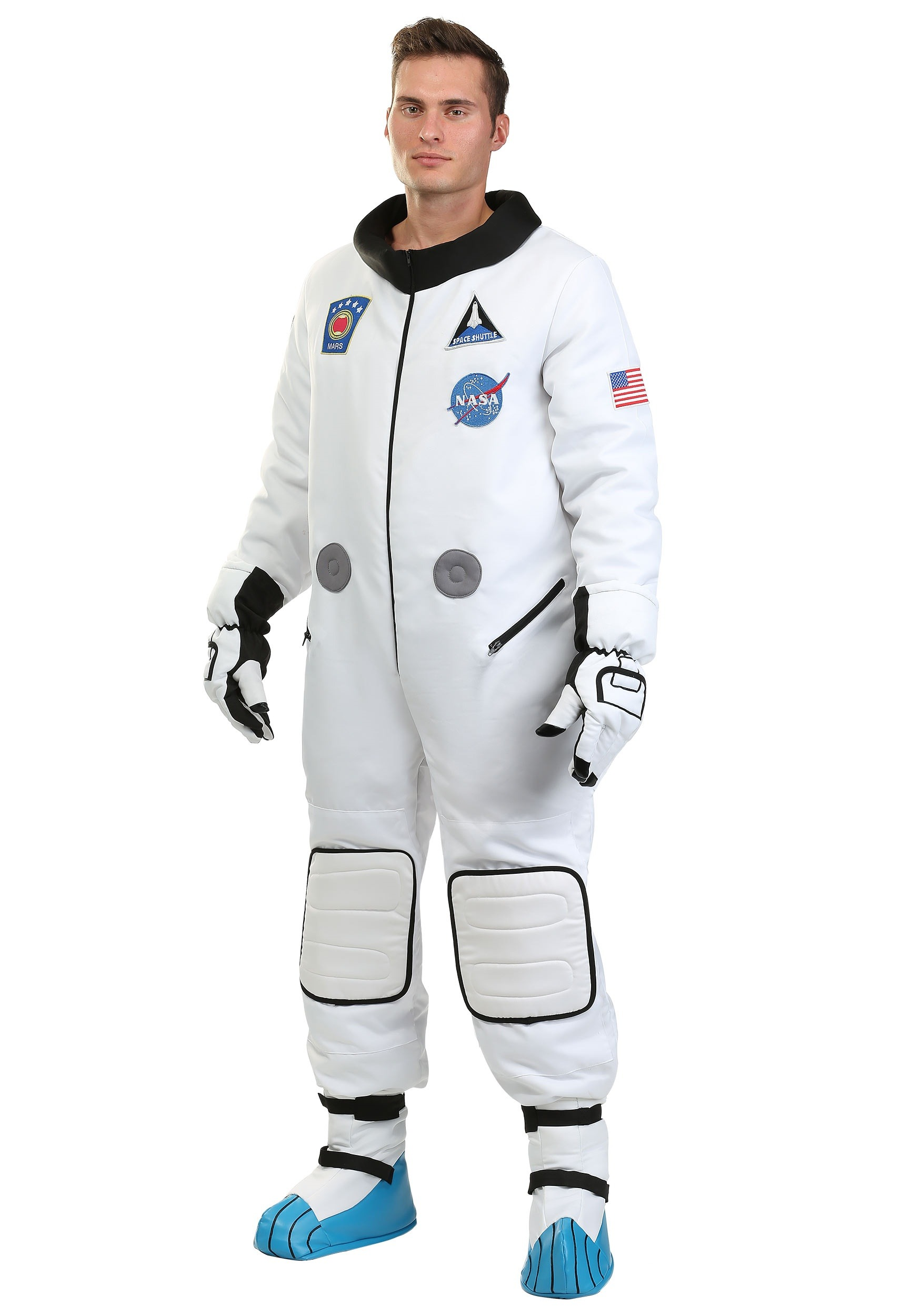 Deluxe Astronaut Costume for Plus Size Men 2X