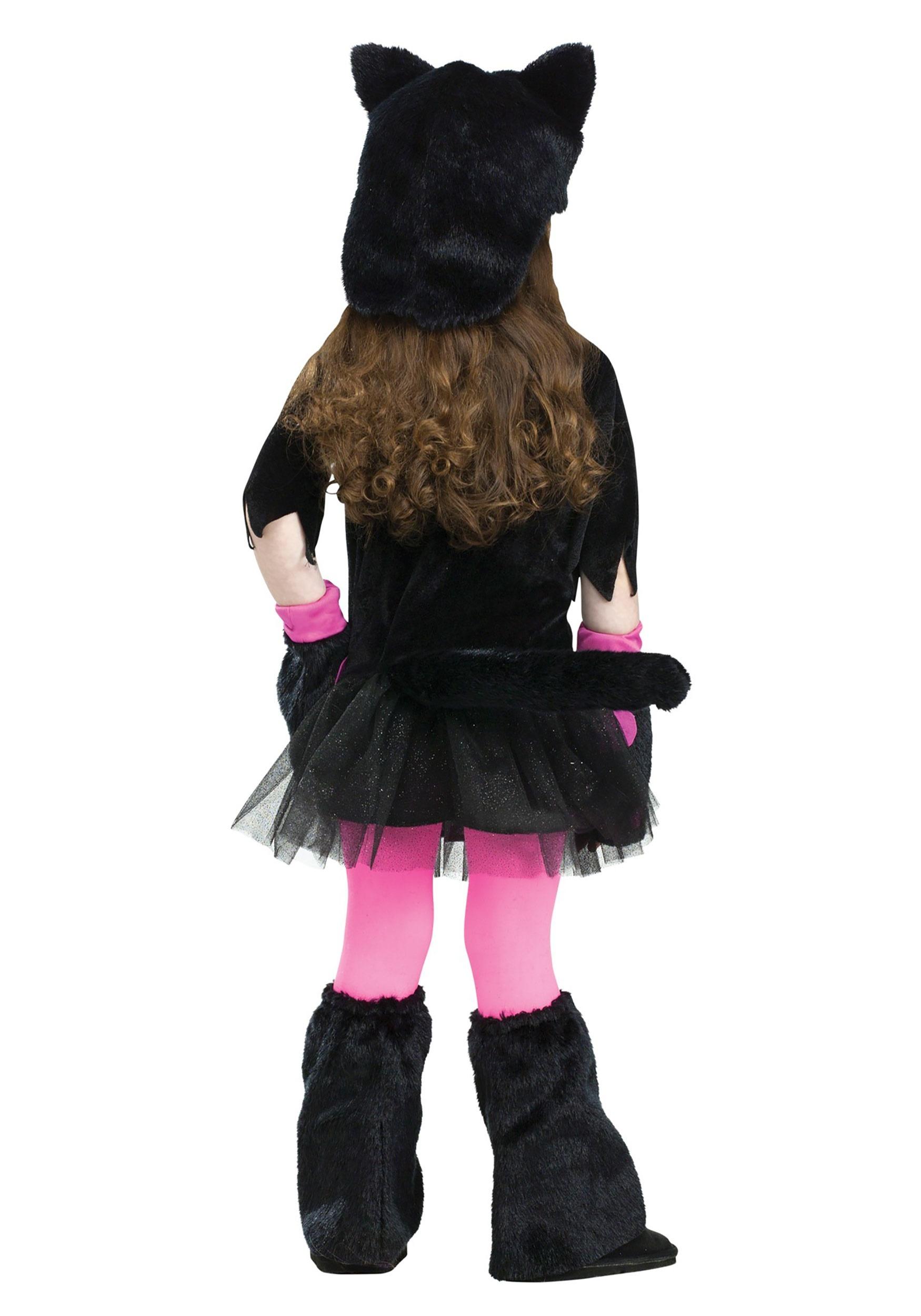 Girls Miss Kitty Toddler Halloween Costume