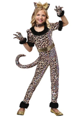 Click Here to buy Leopard Jumpsuit for Girls from HalloweenCostumes ...  sc 1 st  Halloween Costumes Canada & Leopard Kids Halloween Costumes Canada 2018 Costumes Canada