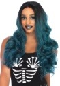 Women's Blended Two-Tone Long Wavy Wig