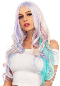 Pastel Rainbow Wavy Wig Update 1