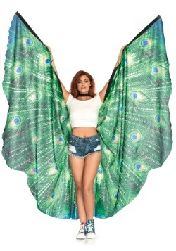 Peacock Oversized Wings