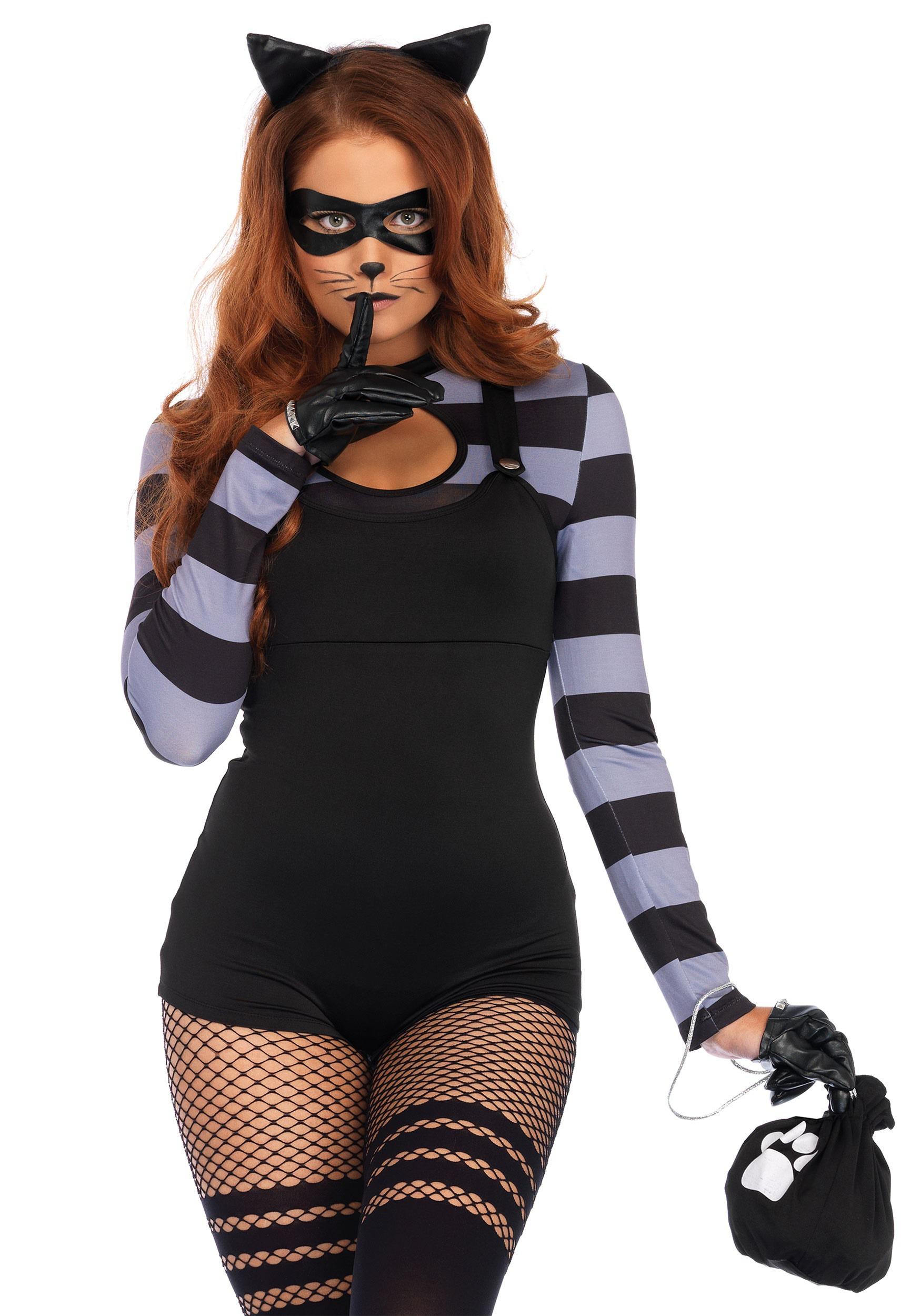 Cat Burglar Womens Costume  sc 1 st  Halloween Costumes & Cat Burglar Costume for Women