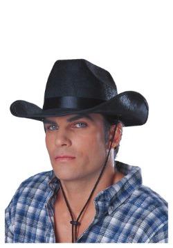 Black Cowboy Rancher Hat