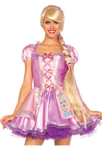 Click Here to buy Rapunzel Wig for Women from HalloweenCostumes, CDN Funds