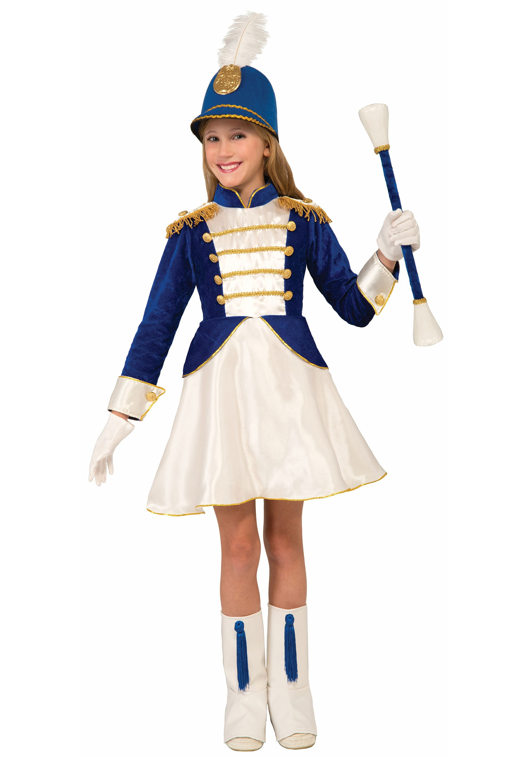 1eef114a49d0 Majorette Costume for Girls