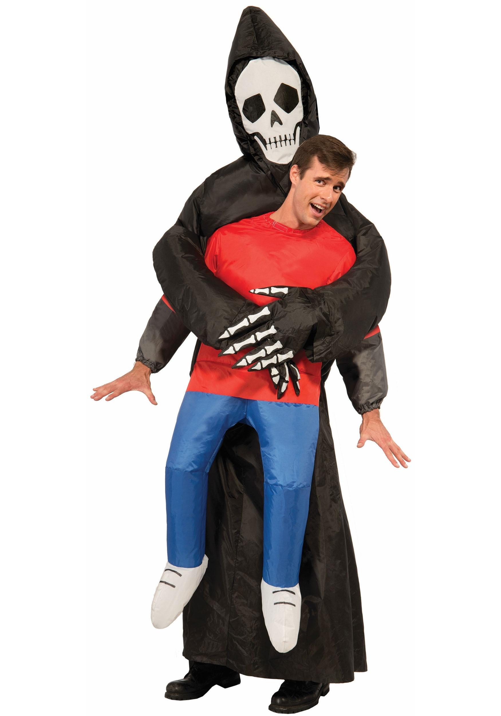 Inflatable Reaper Adult Costume  sc 1 st  Halloween Costumes & Grim Reaper Costumes for Adults u0026 Kids - HalloweenCostumes.com