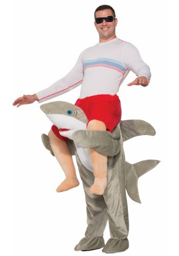 Click Here to buy Ride a Shark Costume for Adults from HalloweenCostumes, CDN Funds