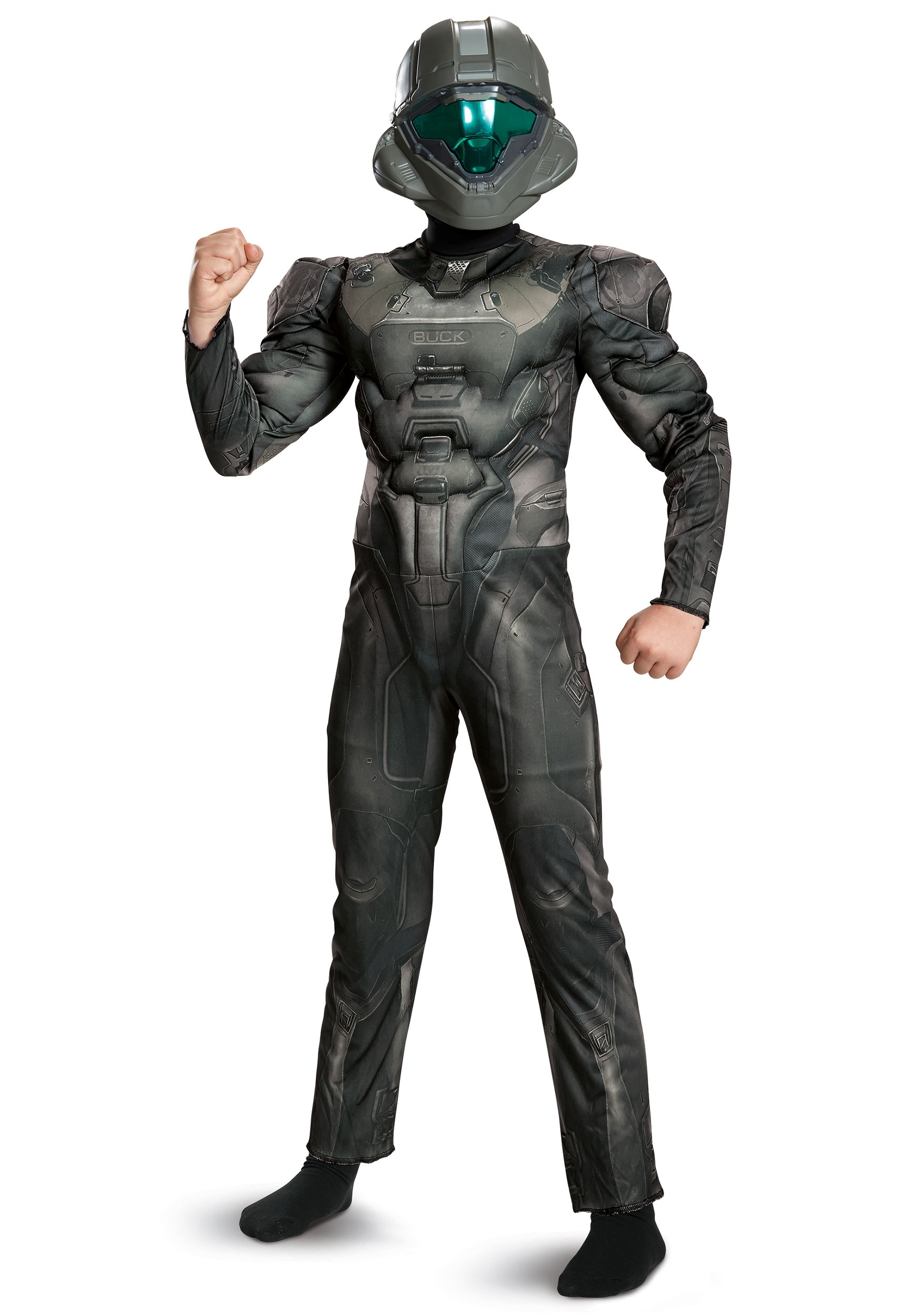Halo Spartan Buck Classic Muscle Costume for Boys