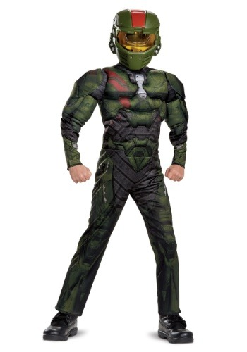 Halo Wars 2 Jerome Classic Muscle Boys Costume
