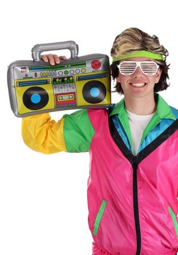 Inflatable 80s Boombox main