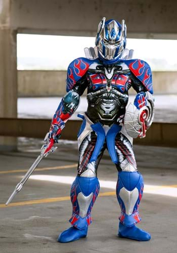 Click Here to buy Optimus Prime Kids Prestige Costume from the Transformers from HalloweenCostumes, USA Funds & Shipping