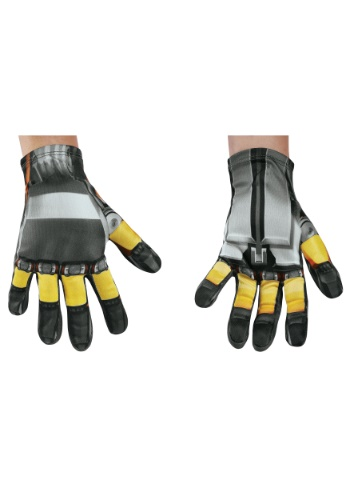Click Here to buy Bumblebee Kids Gloves from the Transformers from HalloweenCostumes, USA Funds & Shipping